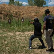 Basic Israeli pistol shooting course in Denver, Colorado