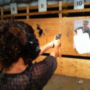 Concealed carry permit training for women in Denver